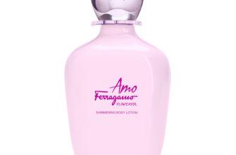 SALVATORE FERRAGAMO Лосьон для тела с блеском Amo Flowerful
