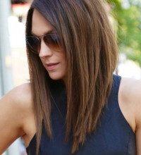 боб на средние волосы