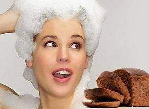 Как приготовить классическую маску из черного хлеба для волос