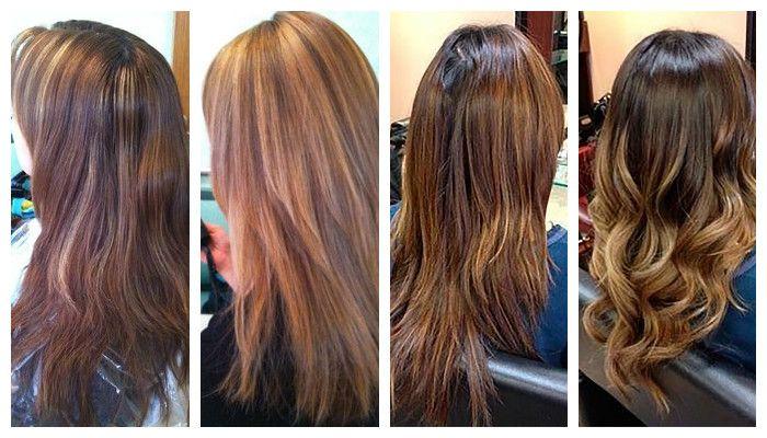 приглянется колорирование темных волос фото до и после нас только лучшие