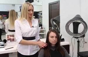 Как проходит процесс брондирование на темные волосы
