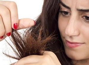 Как подпитать сухие кончики волос?