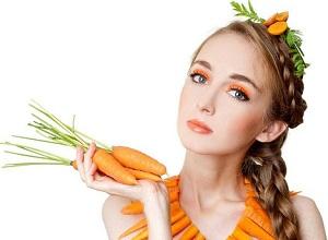 Как приготовить морковную маску для кончиков волос