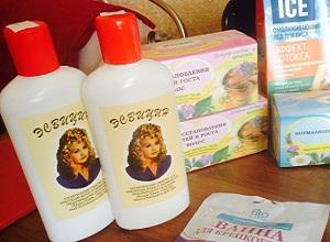 Как применять по инструкции средство для волос Эсвицин