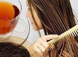 Как приготовить маску для волос на основе чая