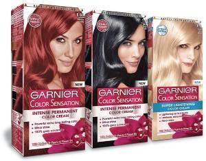 Какие характеристики краски Garnier серии Color Sensation