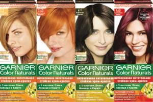 Какие характеристики краски Garnier серии Color Naturals