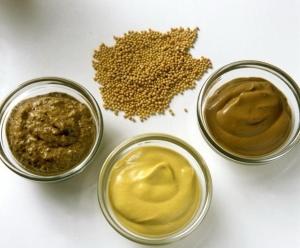 Разные виды горчицы