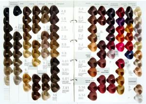 Какие оттенки в цветовой палитре краски Kapous