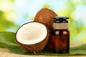 Маска с кокосовым маслом