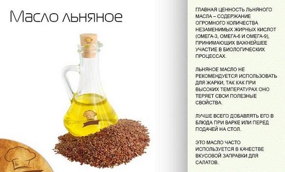 Польза масла