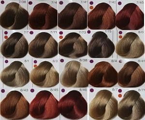 Какие цвета в палитре краски Лонда
