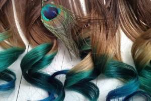 Какая технология применения мелков для волос