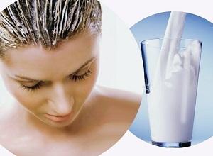 Как осветлить волосы с помощью прокисшего молока