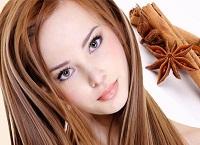 Маска с корицей для осветления волос и увлажнения