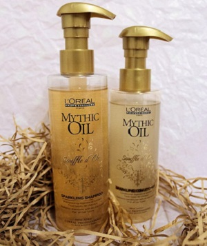 Как действует масло Mythic Oil Nourishing
