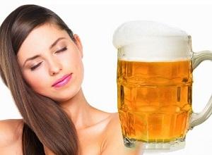 Как приготовить маску с добавлением пива для сухих волос