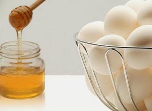 Как приготовить маску с яйцом и медом для сухих волос