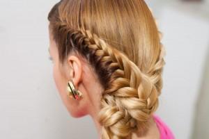 Плетение 2 кос