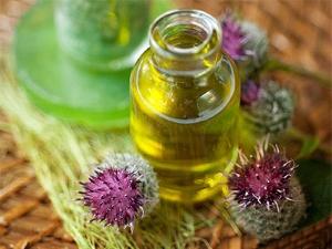 Полезное для волос репейное масло