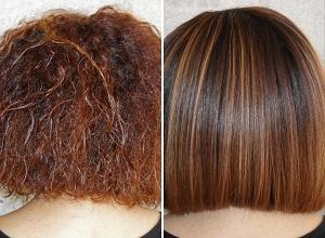 Как действует кератин на волосы?