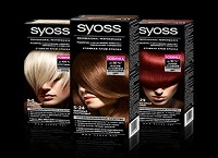 Палитра цветов краски для волос Сьес с эффектом салонного окрашивания