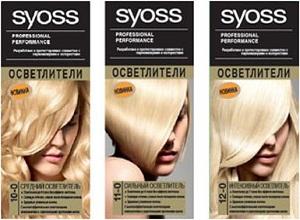 Насколько эффективны осветлители краски для волос Сьес