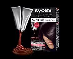 Какие цвета в палитре краски Syoss Mixing Colors