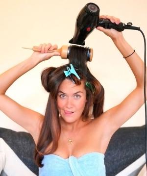 Самостоятельная укладка волос