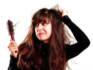 Эта проблема выпадения волос на голове