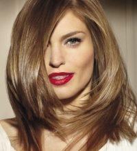 Красивые волосы после ламинирования