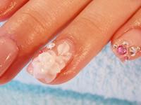 объемные рисунки на ногтях