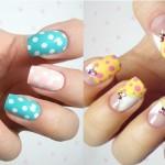 Яркие идеи рисунков для ногтей