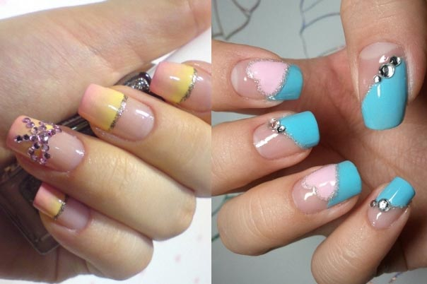 рисунки на ногтях дома