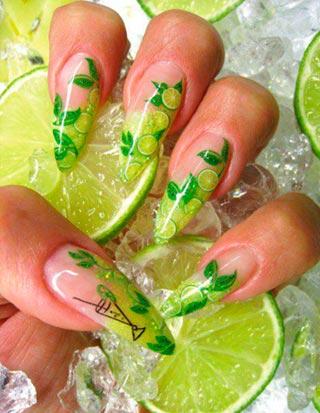 фимо для ногтей