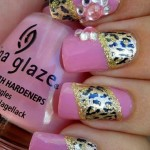 Фото розовых ногтей