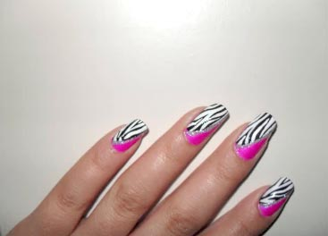 рисунки лаком на ногтях