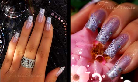 нежные ногти