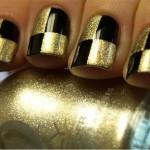 Как сделать дизайн ногтей шахматы