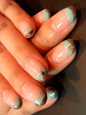 Стемпинг дизайны на ногтях