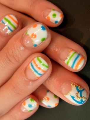 Дизайны ногтей с кружевом