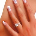 Ногти на свадьбу: френч