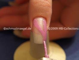 ногти с украшением