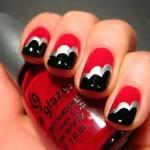 Красивые ногти «Облака»