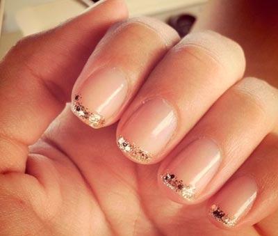 золотые ногти