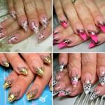 Дизайн нарощенных ногтей 60 фото идей