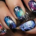 Идеи нейл-арта: космос на ногтях + уроки