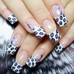 Леопардовые ногти: 50 ярких идей + урок