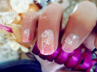 красивые короткие ногти