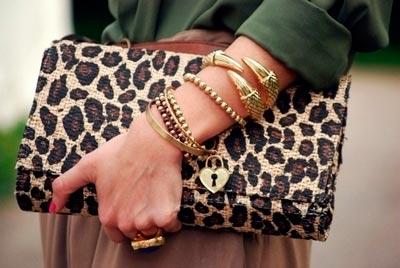 леопардовый мотив